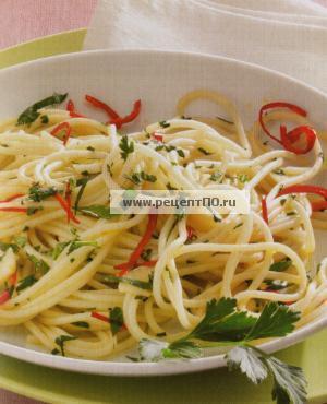 Фото готового блюда - Не просто спагетти!