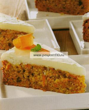 Фотография блюда по испански - Морковный пирог с сыром