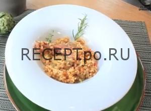 Кролик тушеный с рисом